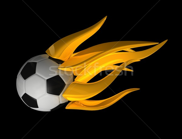 Flame ball Stock photo © OneO2