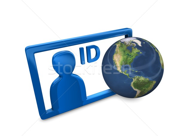 Internet ID Stock photo © OneO2