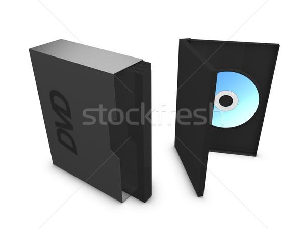 Dvd box Stock photo © OneO2
