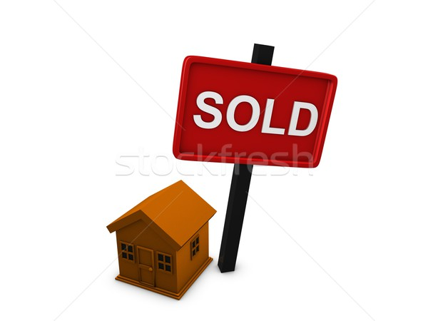 House sold Stock photo © OneO2