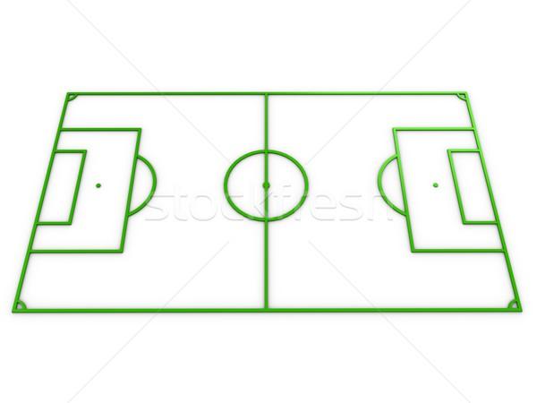 Football field Stock photo © OneO2