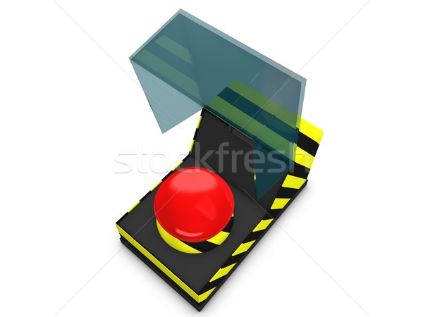 Emergency button Stock photo © OneO2