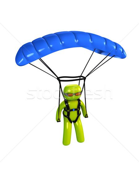 Paratrooper Stock photo © OneO2