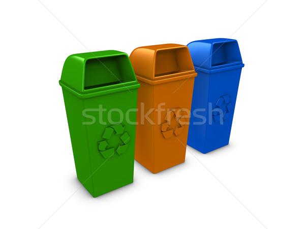 Recycle bin Stock photo © OneO2