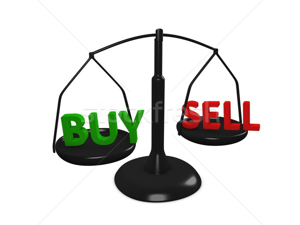 Buy Sell Stock photo © OneO2