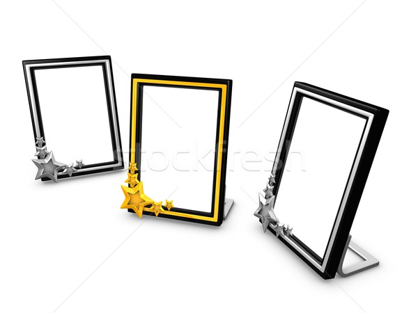 Picture frame,potrait Stock photo © OneO2