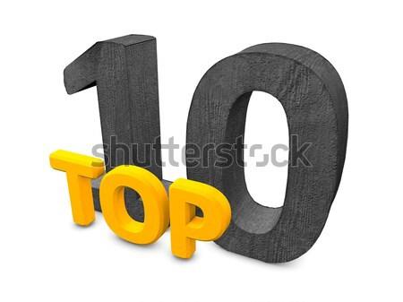 TOP 100 Stock photo © OneO2