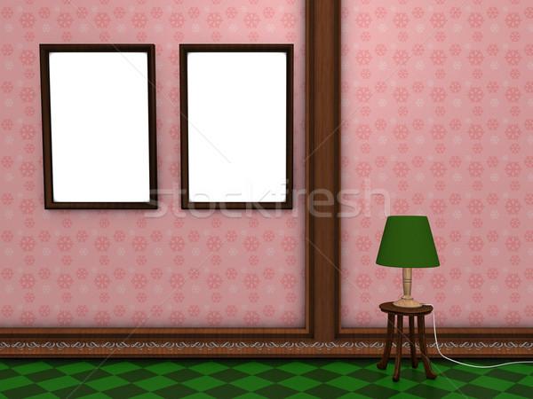 Photo wall frame Stock photo © OneO2
