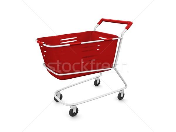 shopping cart Stock photo © OneO2