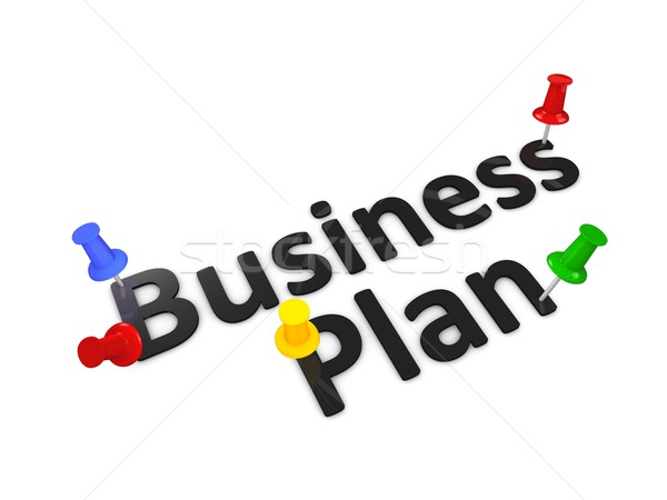 Business plan Stock photo © OneO2