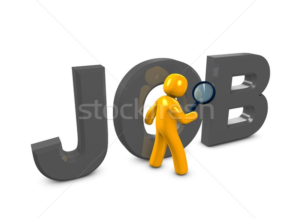 looking for job Stock photo © OneO2