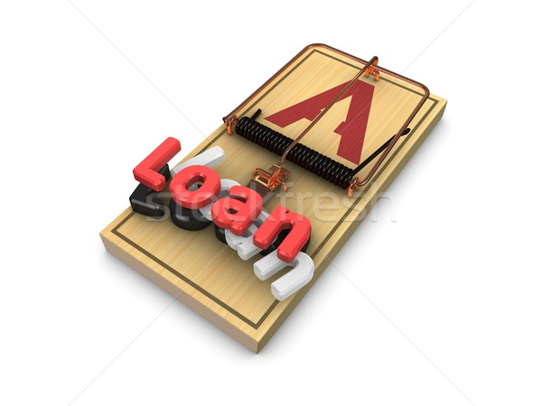 loan trap Stock photo © OneO2