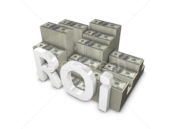Return of Investment Stock photo © OneO2