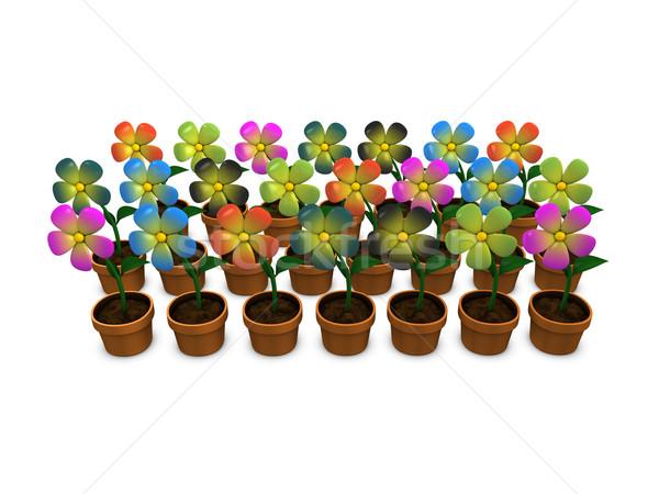 Flowers Stock photo © OneO2