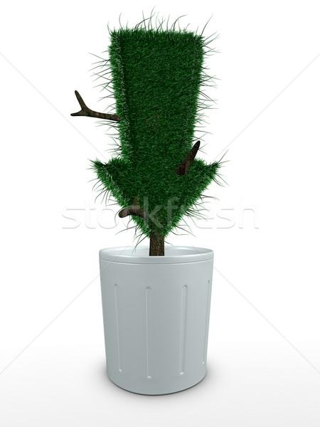Bonsai 3D kép virág fa környezet Stock fotó © OneO2