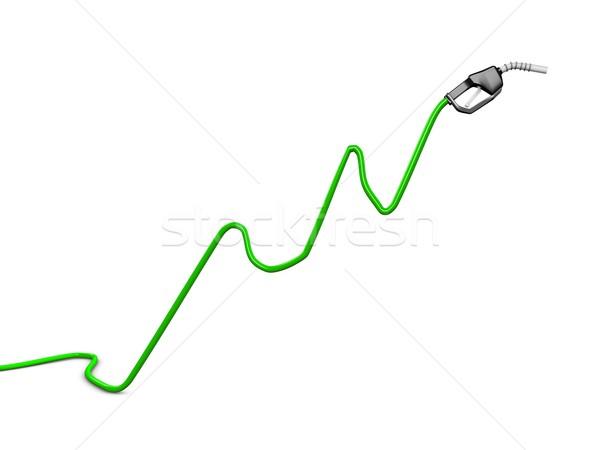 цен нефть диаграммы изображение изолированный белый Сток-фото © OneO2