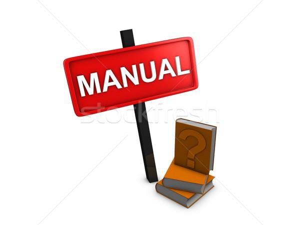 Manual Stock photo © OneO2