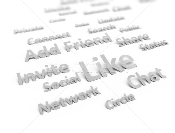 Social network Stock photo © OneO2