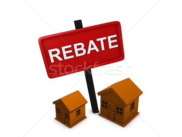 House rebate Stock photo © OneO2