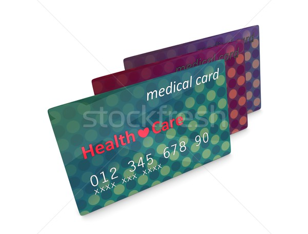 Medical card Stock photo © OneO2