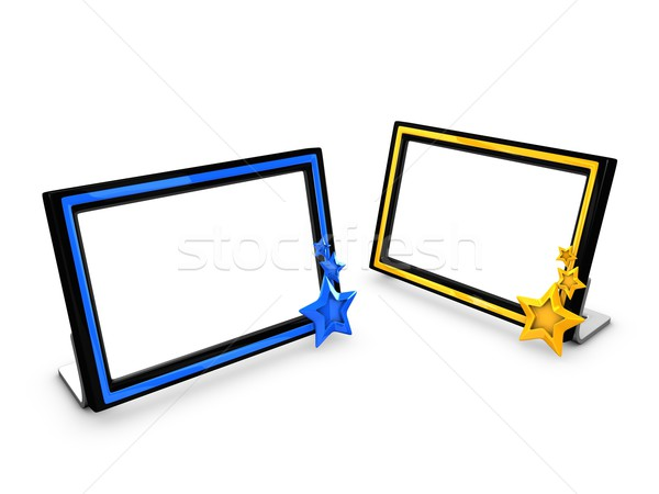 Picture frames Stock photo © OneO2