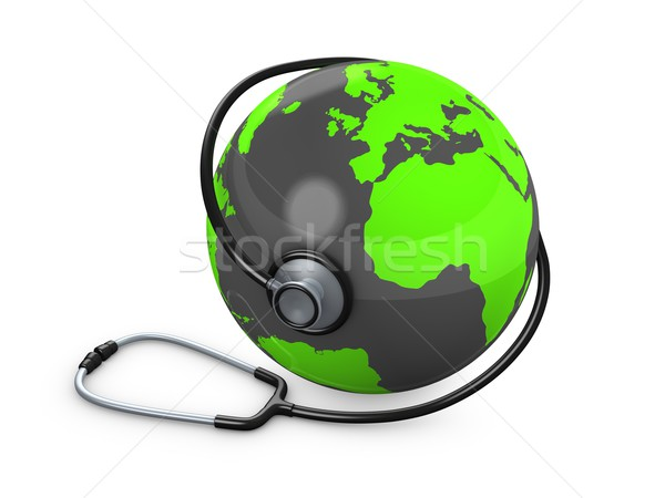 World health Stock photo © OneO2