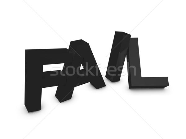 Fail Stock photo © OneO2
