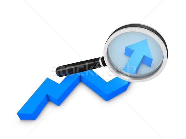 Graph analysis Stock photo © OneO2