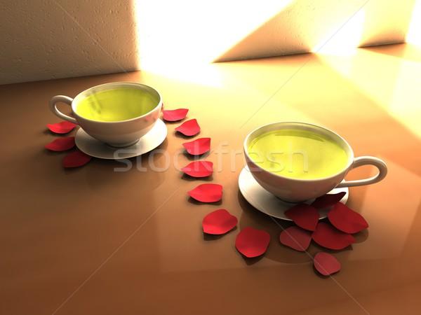 Green tea Stock photo © OneO2