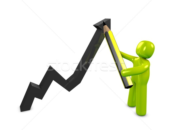 Graphing Stock photo © OneO2