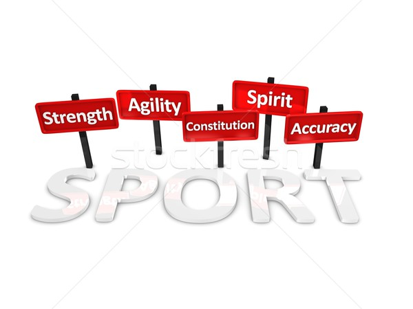 Sports  attributes Stock photo © OneO2