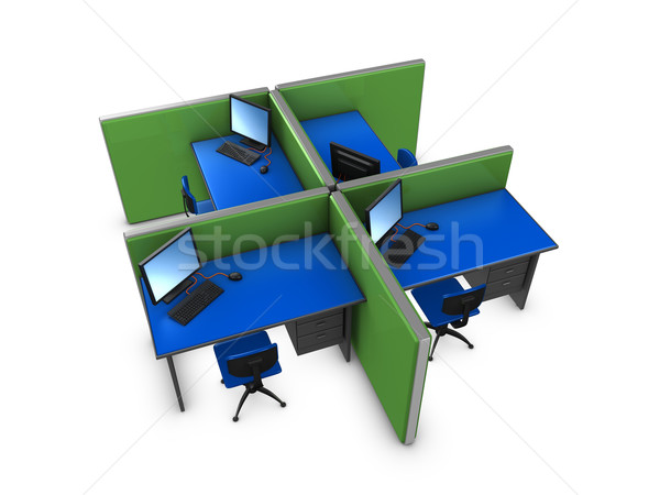 Office partition Stock photo © OneO2