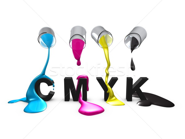 Cmyk Stock photo © OneO2