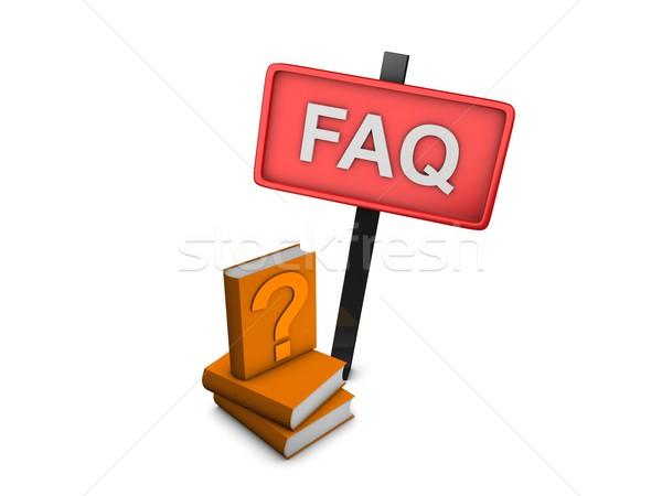 FAQ Stock photo © OneO2