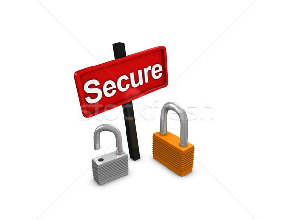 Secure Stock photo © OneO2