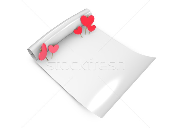 love note Stock photo © OneO2