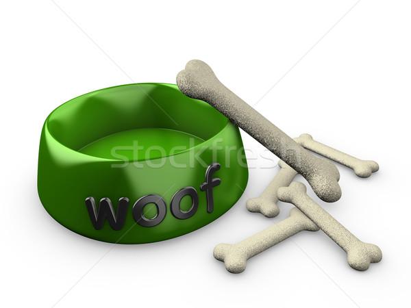 Dog bowl Stock photo © OneO2