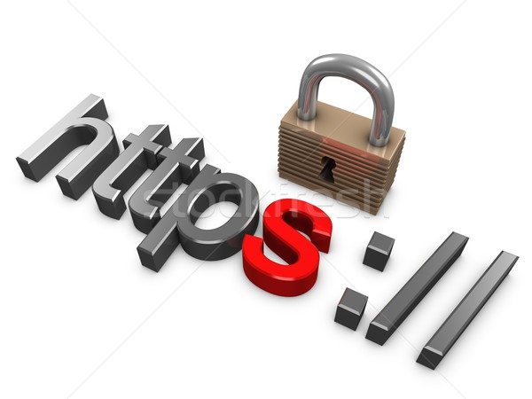 Https secure Stock photo © OneO2