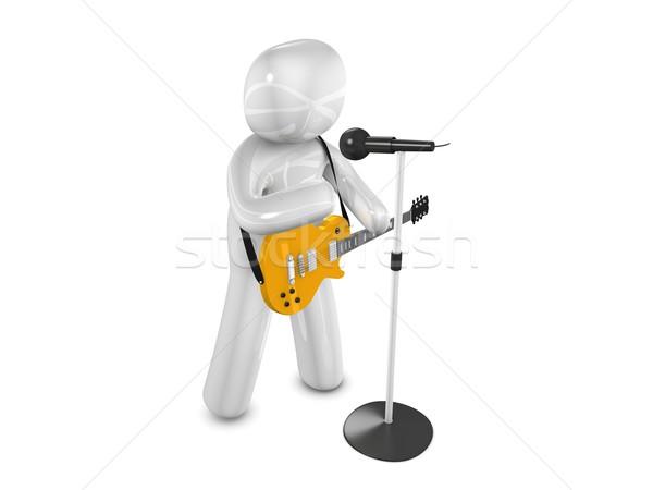 Singer Stock photo © OneO2