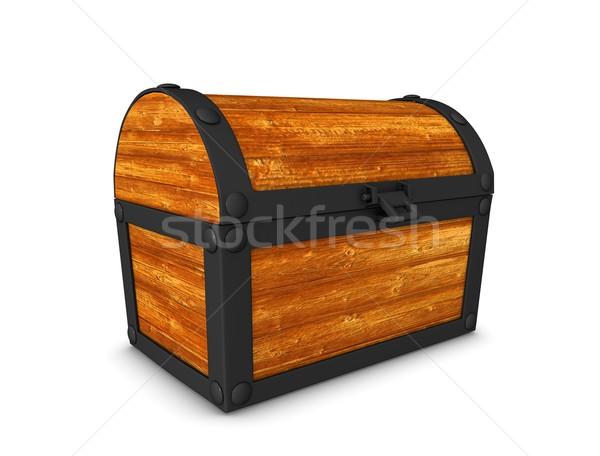 Treasure box Stock photo © OneO2