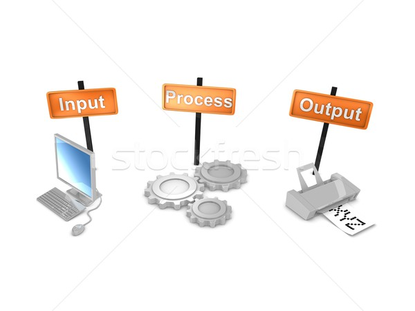 Workflows Stock photo © OneO2