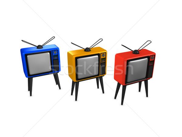 Television Stock photo © OneO2