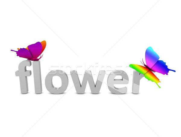 Flower Stock photo © OneO2