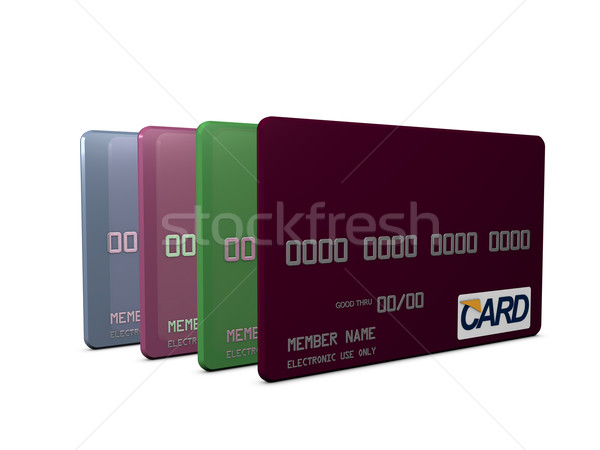 Card Stock photo © OneO2
