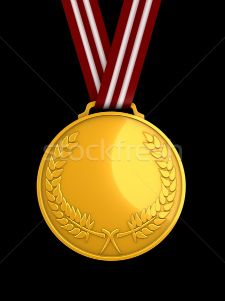 Gold medal Stock photo © OneO2