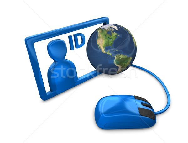 Stock photo: Internet ID