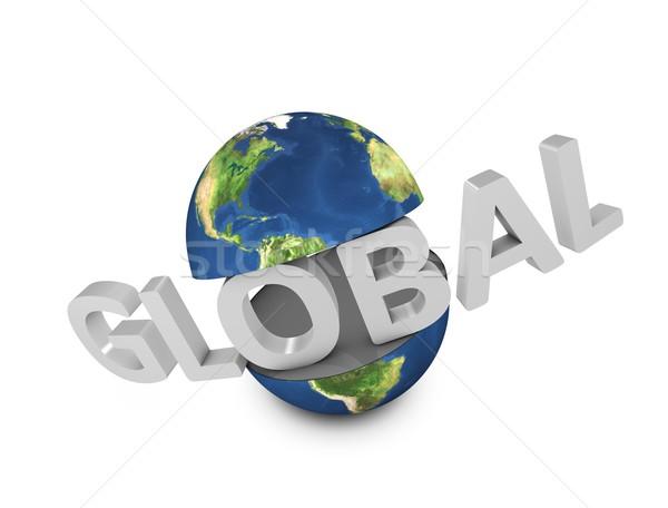 Global Stock photo © OneO2