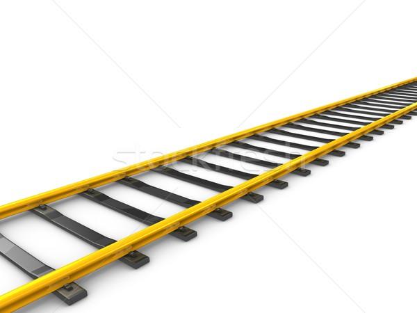 railway track Stock photo © OneO2