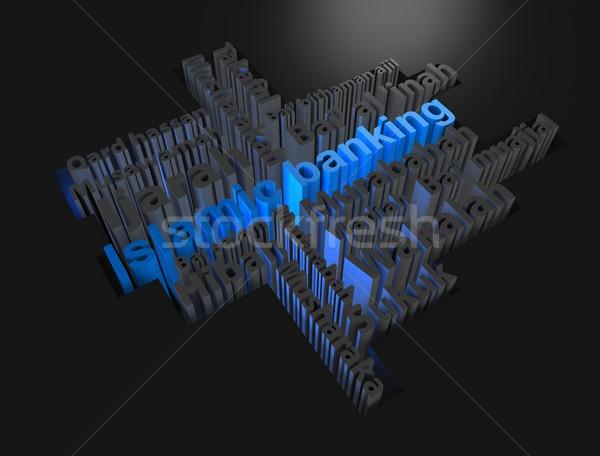 金融 3D レンダリング 画像 金融 ストックフォト © OneO2