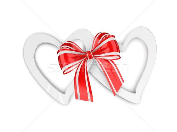 Ribbon heart Stock photo © OneO2